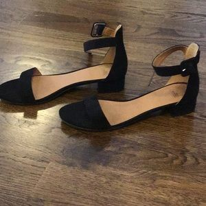 Nordstrom Shoes - Black suede sandals
